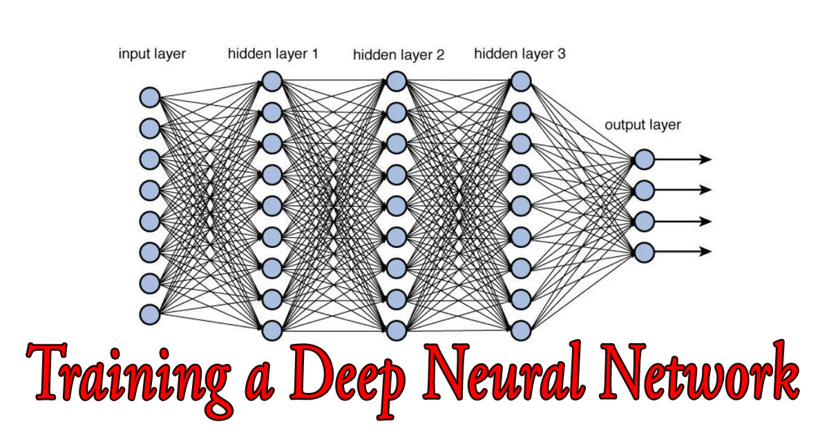Training a Deep Neural Network Archives - Nuruzzaman Faruqui